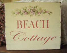 Beach Cottage Shabby Roses