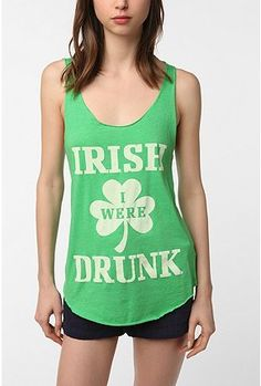 If you drink, this is cute for St. Patty's Day