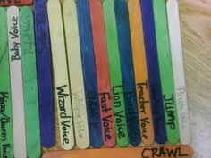 Miss Thrifty SLP: Shes back with another thrifty share inspired by pinterest. Use those articulation sticks for other activities!