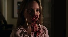 Little girl zombie from Dawn of the Dead remake.  What is with little girls being zombies?  No little boys?  You bastards.