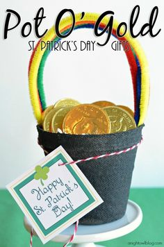 Pot of Gold St. Patrick's Day Gifts - A Night Owl Blog
