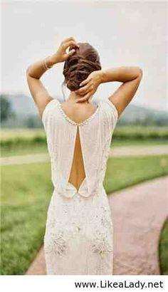 Amazing long white dress for girls
