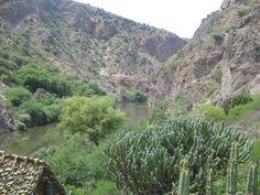 Vista desde el Desarrollo Ecoturistico el Alberto,Ixmiquilpan,Hidalgo.