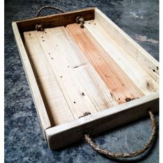 Custom Made Rustic Rope Tray