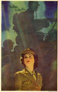 Powerfully captivating. #vintage #1940s #WW2 #women