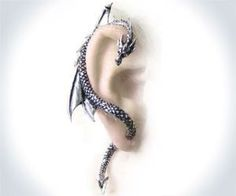 Dragon Wrap Earring