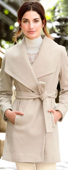 The Belted Wrap Coat