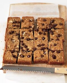 Blondies with Chocolate Chips and Walnuts Recipe