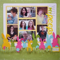 Happy Easter Layouts : Core'dinations ColorCore Cardstock®