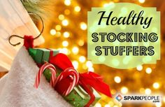 A Dozen Fit, Healthy & Affordable Stocking Stuffers | via @SparkPeople #fitness #food