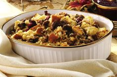 Ocean Spray Cape Cod Cornbread Stuffing. Try this recipe now: http://www.oceanspray.com/Recipes/Corporate/Sauces,-Sides---Salads/Cape-Cod-Cornbread-Stuffing.aspx?courses=SaucesSidesSalads