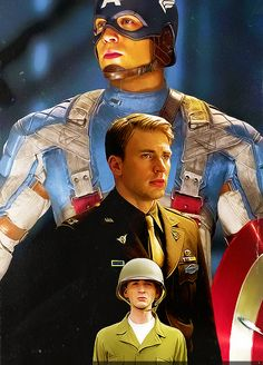 Chris Evans... Captain America