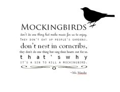 first attempt... to kill a mockingbird quote