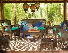 A classic look reimagined in durable synthetic wicker: Our Coco Cove Collection
