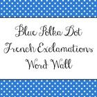 Put these word cards around your classroom for some  encouragement and positive thinking! Great for high school French class! Two words per page. S...