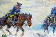 Swedish dragoons in