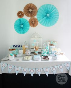 Blog My Little Party - Ideas e Inspiración para Fiestas: Vuestras Fiestas: Cumpleaños de Nahiel y Bautizo Cayetano
