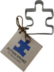 Autism Speaks Cookie Cutter