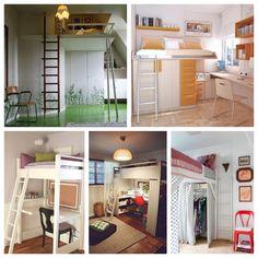 Para quartos pequenos