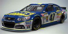 One of the paint schemes that AJ Almendinger will run in the 2014 Nascar Sprint Cup Season