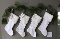 Hang Stockings without a mantle