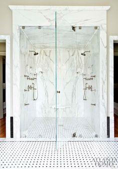 Marble Frame bathroom shower