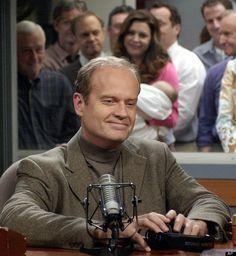 """Frasier On """"Frasier"""".... love this show  Last Episode, final scene."""