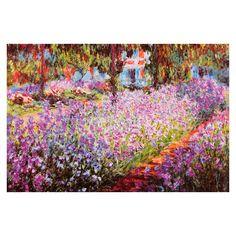 Jardin de Giverny by Monet Canvas Print