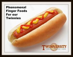 With so much piled on our plate to take care of during the day; sometimes, there is little time left to plan creative meals. To help you along the way, we've compiled a list of finger foods and bright ideas, for you to call your own.  Learn more at Twiniversity.com