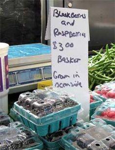 Farmers Markets in San Diego - Find locally grown produce: San Diego County Farm Bureau    List of Days and where the farmer's markets are going down. I hear the OB one is kickin  http://sdfarmbureau.org/BuyLocal/Farmers-Markets.php#