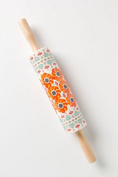 gift, poppi ring, anthropologie, ring roll, rolling pins, hous, poppies, kitchen, roll pin
