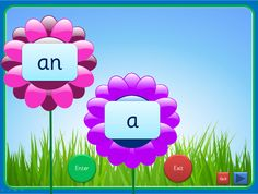 An interactive PowerPoint, linked to Letters and Sounds (Phase 2), that can be worked through at your own pace. Each slide has up to four high frequency words included and they can be viewed individually. The words enter as flower centres and can exit once viewed. This presentation could be used for small groups and individual children in addition to whole class teaching. The Comic Sans activity is editable while the others use an embedded font (Sassoon Infant)