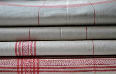 Exqusite French Vintage Linen 1900s Towel by ForTheLoveOfFrance, #food52 #saveur #summerfoodfights.