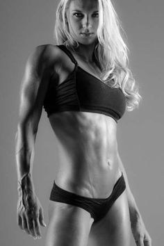 love her athletic build