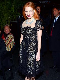 classic! SHEER DELIGHT photo | Jessica Chastain