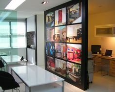 Modern Home Office Rustic Room Divider Design, Pictures, Remodel, Decor and Ideas - page 6