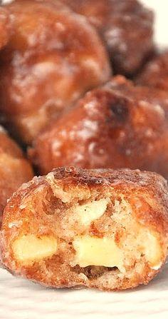 homemade apple fritters.....