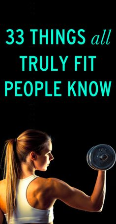 33 things all truly fit people understand #ambassador