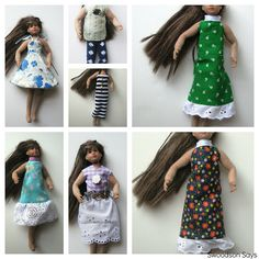 Links to several sewing patterns.Only Hearts Club Doll Clothes by swoodsonsays, via Flickr (doll is apprx. blythe sized.)