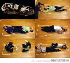 proof Jack and Rose could have both fit on that wooden plank!