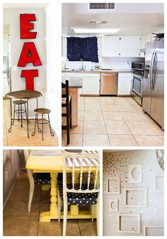 Adorable Kitchen Makeover for under $400! | www.classyclutter.net