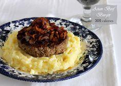 Asian Beef Burger - MunatyCooking