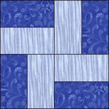 Block of the Day for June 4, 2014 - Mini Rail Fence