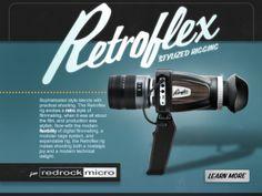 Redrock Micro RetroFlex Rig LCD Viewfinder Cage BlackMagic Pocket Cinema BMPCC