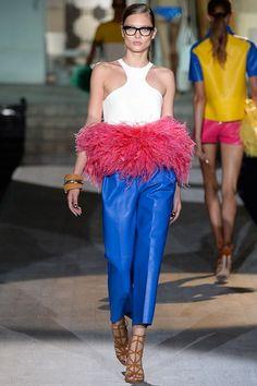 DSquared2 womenswear, spring/summer 2015, Milan Fashion Week
