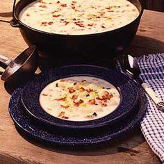 Potato Corn Chowder Potatoes Corn Chowders, Chowders Soups Stew, Soups Chowders Chilis, Yummy Food, Gardens Food Diy, Foods Meals, Corn Chowders Recipe, Corn Chowders But, Chicken Corn Flakes
