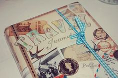 Travel Journal #travel #journal #crafts