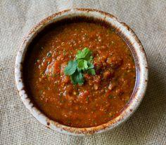 Roasted Chipotle Tomato Salsa