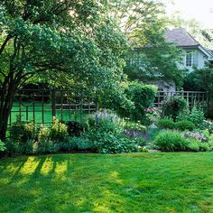 Organic Lawn-Care Basics ---   These environmentally friendly tips will keep your lawn green and healthy. backyard ideas, lawns, landscap idea, landscapegarden interior, front yards, gardening, garden idea, outdoor gardens, organ lawn