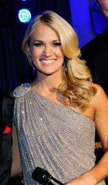 Carrie Underwoods big curls